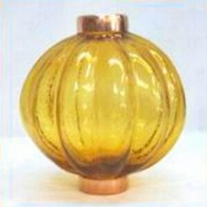 Pumpkin Glass Ball
