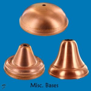 Bases for Weathervanes and Finials