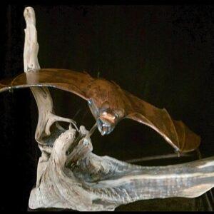 Bat Sculpture