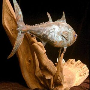 Blue Fin Tuna Sculpture