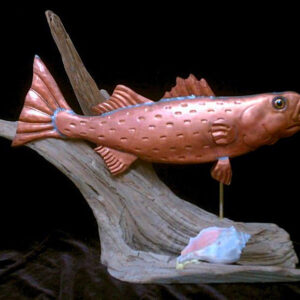 Striped Bass Sculpture