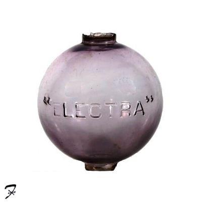 Lightning Rod Ball Guide Electra Round Ferro Weathervanes