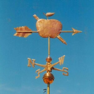 Apple Arrow Weathervane