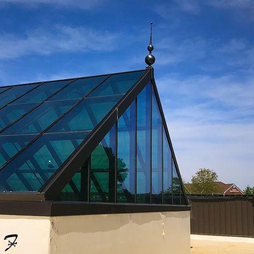 Art Deco Roof Finial Ferro Weathervanes