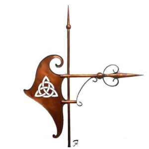 Celtic Knot Banner Weathervane