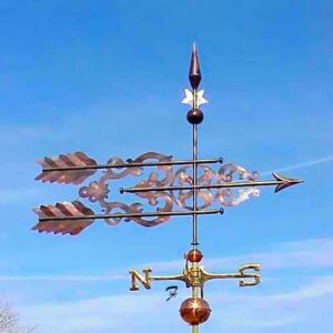 Centennial Scroll Arrow Weathervane