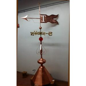 Monogram Banner Weathervane