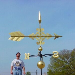 Tiffany Arrow Weathervane
