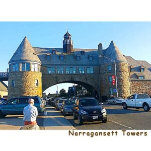 Narragansett Towers Banner Weathervane