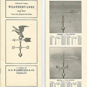 Washburne Arrow Weathervane*