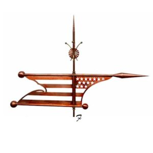 Patriotic Banner Weathervane