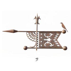 Pierced Banner Weathervane*
