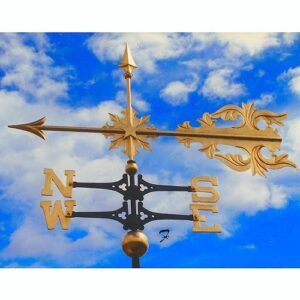 Roman Scroll Arrow Weathervane