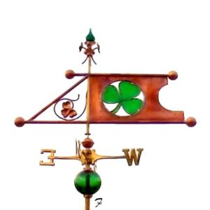 Shamrocks Banner Weathervane