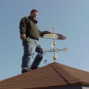 Shuttlecock Arrow Weathervane*