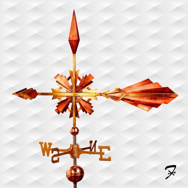 Weathervane Arrow Art Deco