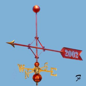 Dedication Arrow Weathervane*