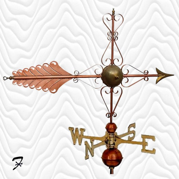 Weathervane Arrow Emilias Heart