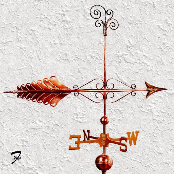 Weathervane Arrow Harvest