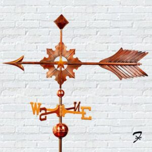 Starburst Arrow Weathervane