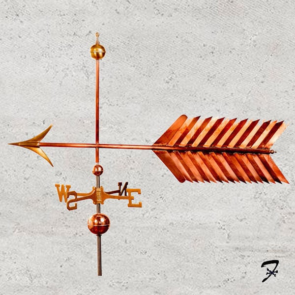 Washburne Arrow Weathervane Ferro Weathervanes