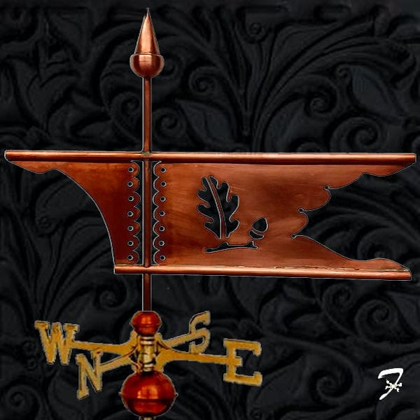 Weathervane Bannerette Oak