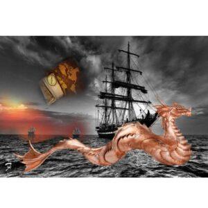 Leviathan Weathervane
