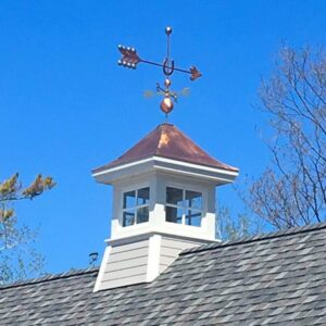 Lucky Arrow Weathervane