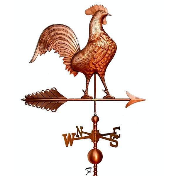 Rooster Weathervane American Ferro Weathervanes