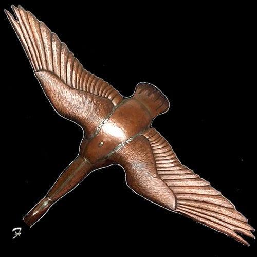 Canadian Goose Weathervane wingspread