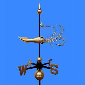Squid Weathervane