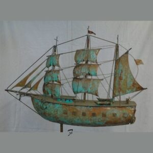 Ship Weathervane, Barque