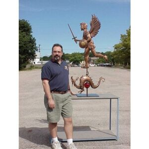 Saint Michael Weathervane