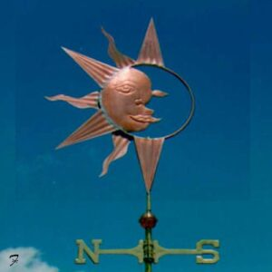 Sun Moon Weathervane