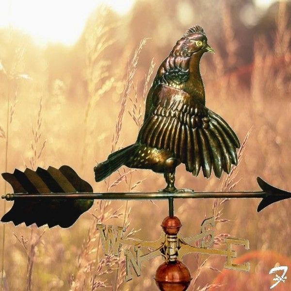Weathervane Bird Grouce