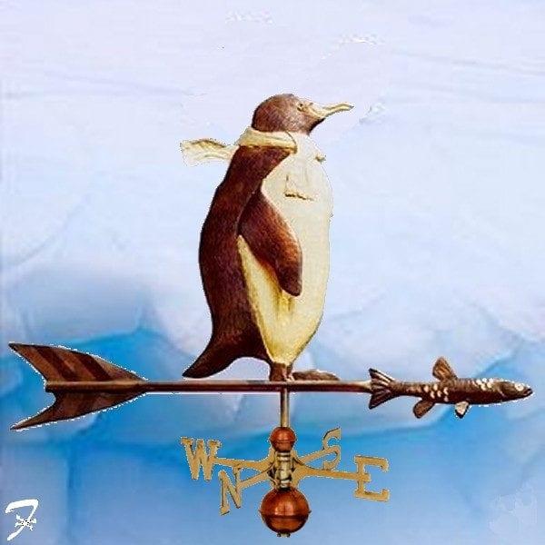 Weathervane Bird Penquin