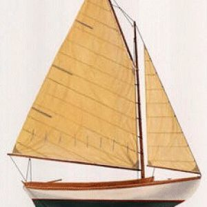 Sailboat Weathervane, Herreshoff 12-1/2