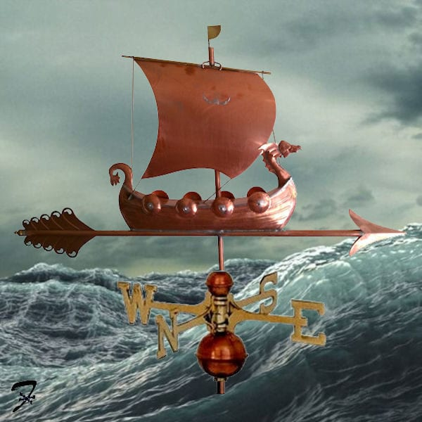 Weathervane Boat Viking Ship