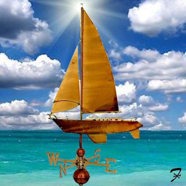 Weathervane Boat Yacht