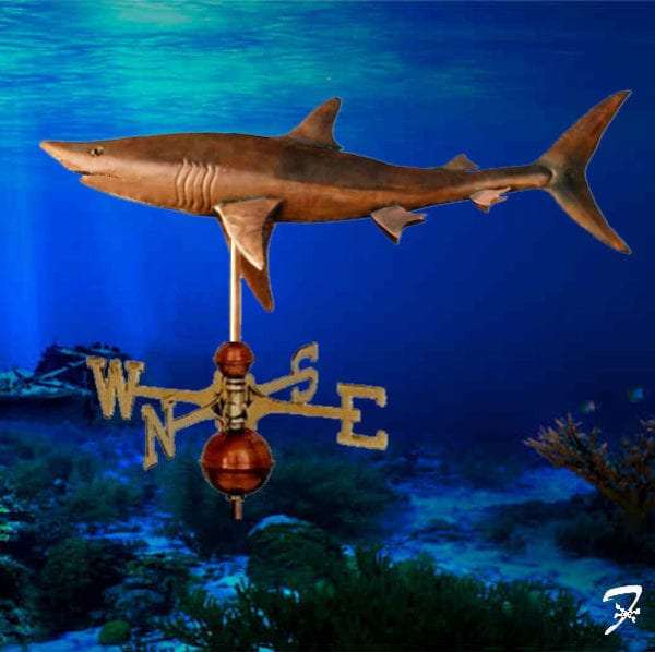 Weathervane Fish Shark