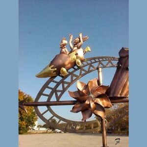 Amusement Park Weathervane*