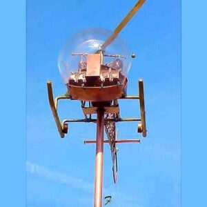 Helicopter Weathervanes – Three Dimensional*