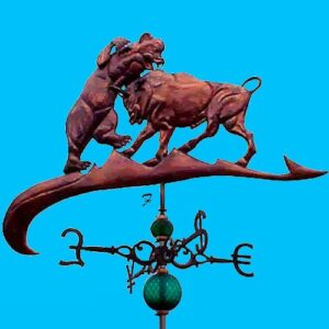 Bull vs Bear Weathervane*
