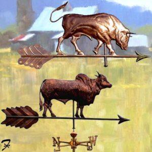 Bull Weathervanes