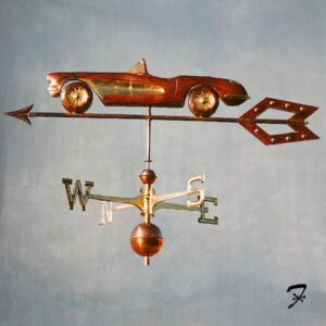 Car Weathervanes, Swelled Body