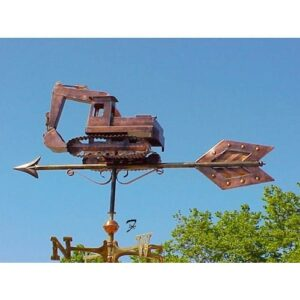 Heavy Equipment Weathervanes, Three Dimensional