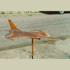 Jet Airplane Weathervane – F16