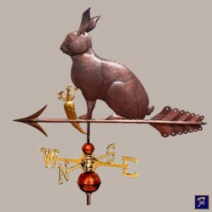 Rabbit Weathervane, Hare