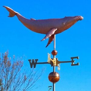 Humpback Whale Weathervane