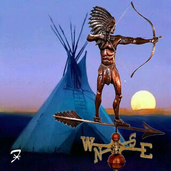 Indian American Weathervane